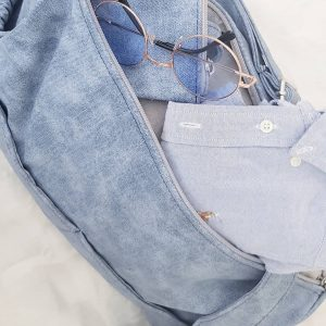 תיק החתלה ג'ינס